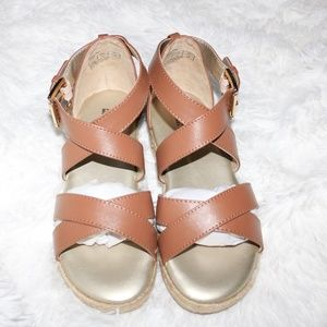 MICHAEL MICHAEL KORS Margie Raina Sandal Size 1